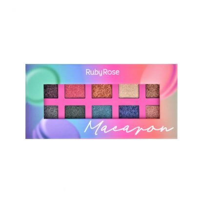 Paleta de Sombra Macaron Ruby Rose HB-1052