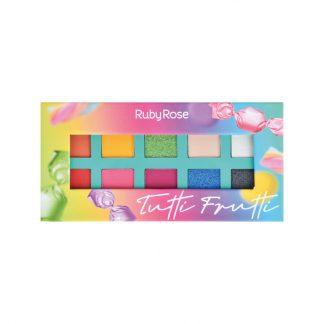 Paleta de Sombra Tutti Frutti Ruby Rose HB-1053