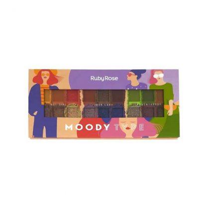 Paleta de Sombra Moody Type Ruby Rose HB-1054