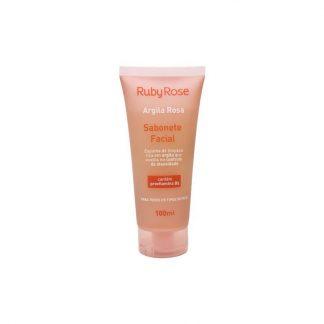 Sabonete Facial Argila Rosa Ruby Rose HB-324