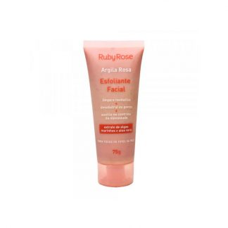 Esfoliante Facial Argila Rosa Ruby Rose HB-405
