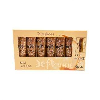 Base Líquida Soft Matte Ruby Rose HB-8050-C2 Chocolate 2