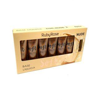 Base Líquida Soft Matte Ruby Rose HB-8050-N2 Nude 2