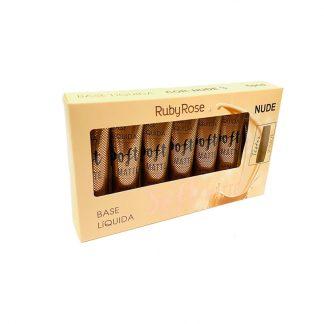 Base Líquida Soft Matte Ruby Rose HB-8050-N3 Nude 3
