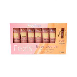 Base Líquida Feels Ruby Rose HB-8053-C20 Castanha 20