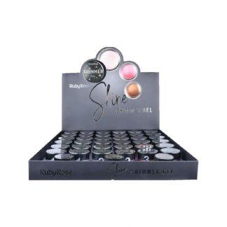 Shimmer Gel Ruby Rose HB-8404