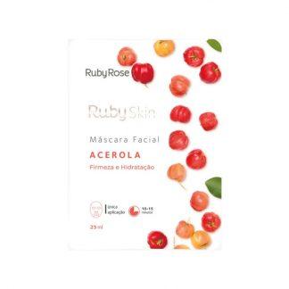 Máscara Facial Acerola Ruby Rose HB-701