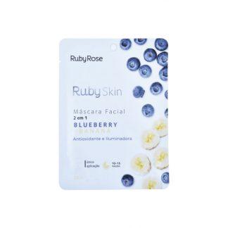 Máscara Facial Blueberry Banana Ruby Rose HB-705