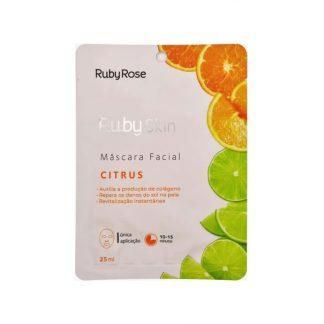 Máscara Facial Citrus Ruby Rose HB-711