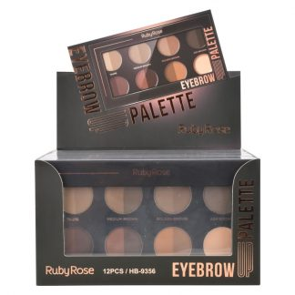 Paleta de Sobrancelha Eyebrow Up Ruby Rose HB-9356