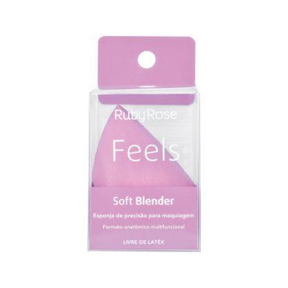 Esponja Soft Blender Feels Ruby Rose HB-S01